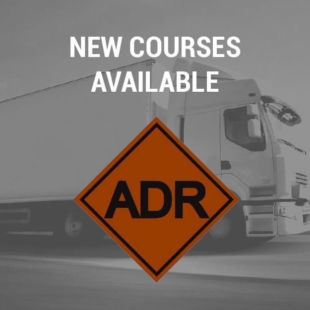 New courses ADR