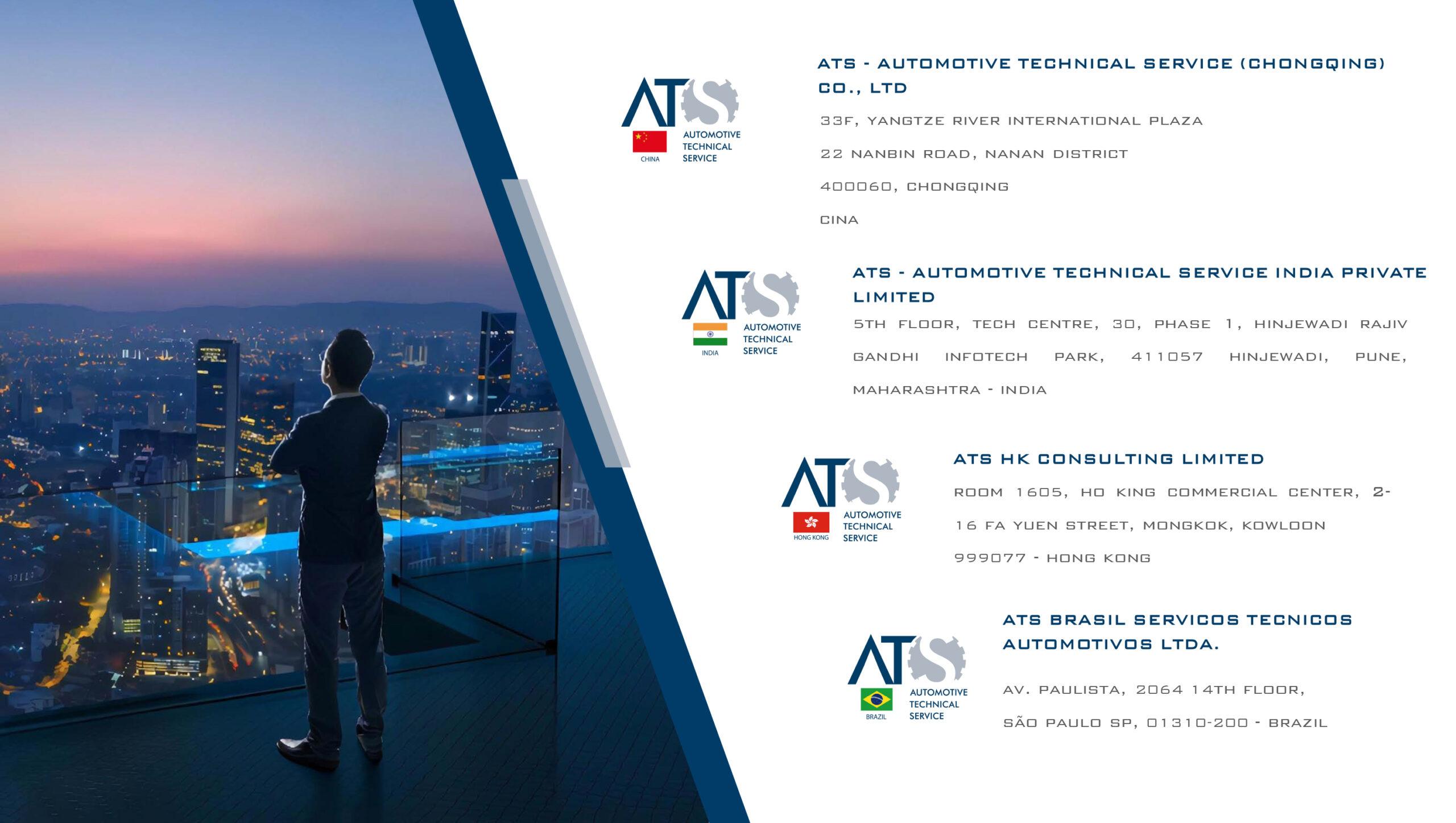 ATS – filiali nel mondo